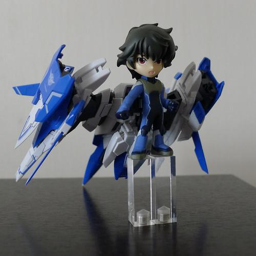 RG Gundam OO Raiser ☓ Chibi Voice I-doll Setsuna F. Seiei | by Andrey Krampuls
