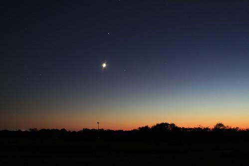longexposure sunset sky moon oklahoma dusk okc oklahomacity 2007 draper xti ©jasonbondy