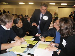 Paul, Dahlia, Gene and Marisa demanded that the development include affordable housing for a variety of income levels.