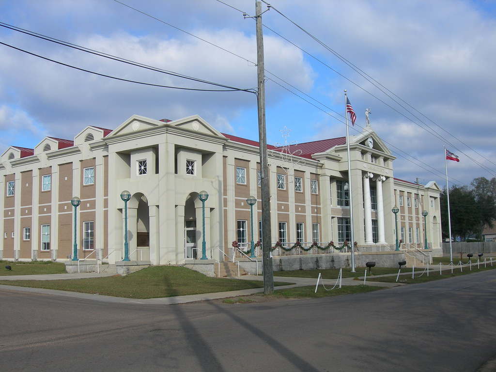 Lamar County Chancery Court House | Purvis, Mississippi ...