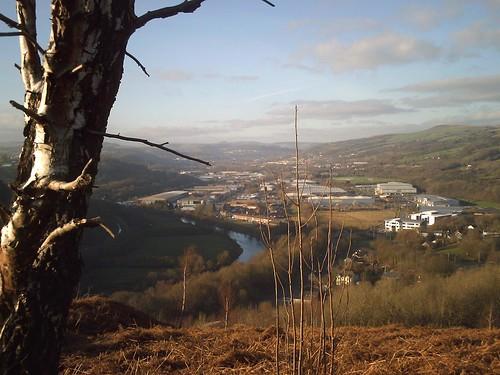 Llwybr y Bryniau (view)
