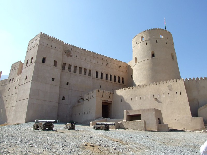 The fortress in profile
