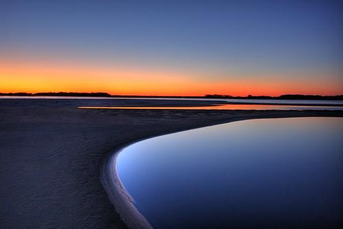 sunset beach sc pool south tide southcarolina charleston beaches carolina tidepool 1022mm hdr folly