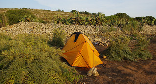 Comino Camping Night 1