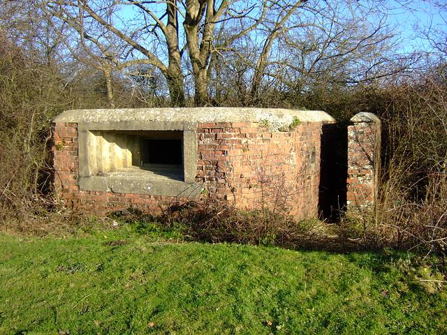 WW II fortification