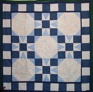 Blue-lap-quilt-with-stars | by Penny in Oklahoma