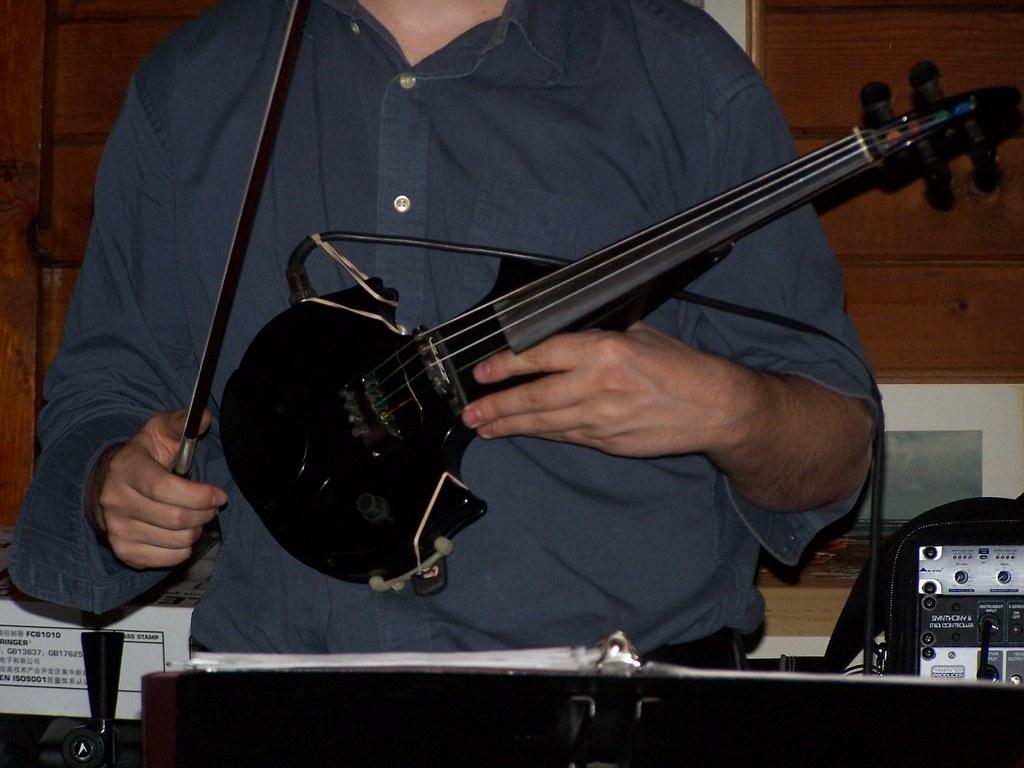Zeta MIDI Violin   www toddblum org/   Roger Coss   Flickr