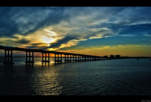 bridge sunset water river nikon 365 d3100 nikond3100 3652011 encphotography evanconlin