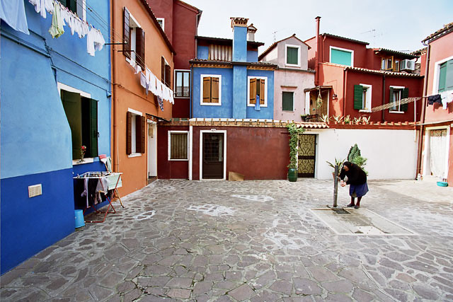 Colorful Courtyard #2