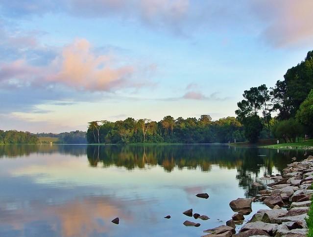 Morning Fishing - Lower Pierce Reservoir