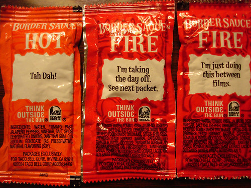 Taco Bell Hot Sauce Packets | by su-lin