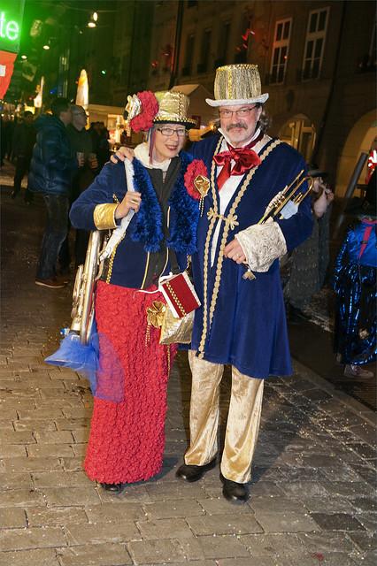 Bern Carnaval. Bärner Fasnacht 2014.Switzerland. No. 4320.