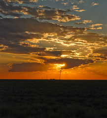 outback sunset