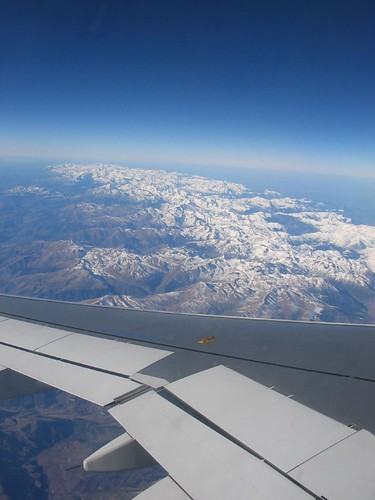 Pyrenees view from the plane | by ramonbaile