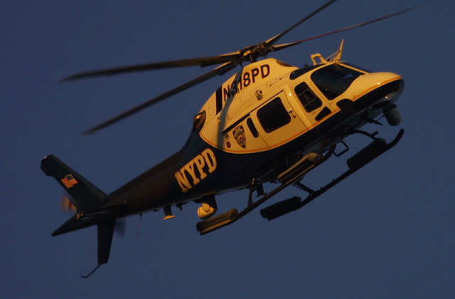 New York Police Dept (NYPD) N318PD, Agusta A119, in New York, USA. October, 2007