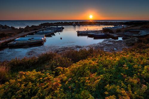 torre sibiliana sea mare tramonto sunset efs1022mmf3545usm canon hdr 70d sicilia sicily italia italy marsala petrosino landscape seascape