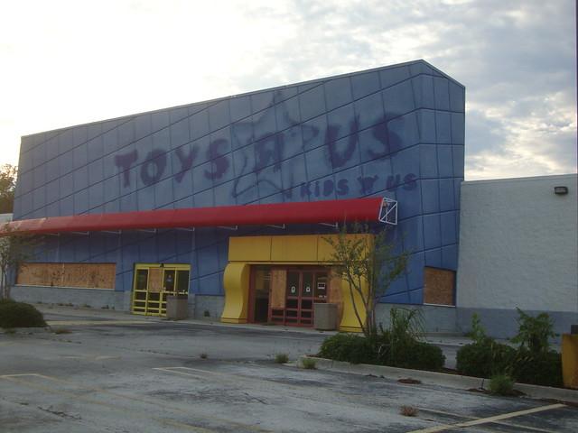 Abandoned Toys 'R' Us