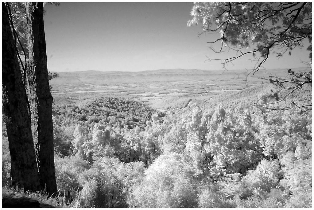 Naked Creek Overlook (Infrared) | Along Skyline Drive, VA