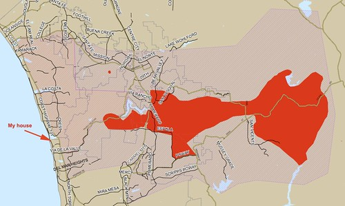 Most current map of the fire near my home | by focajonathan