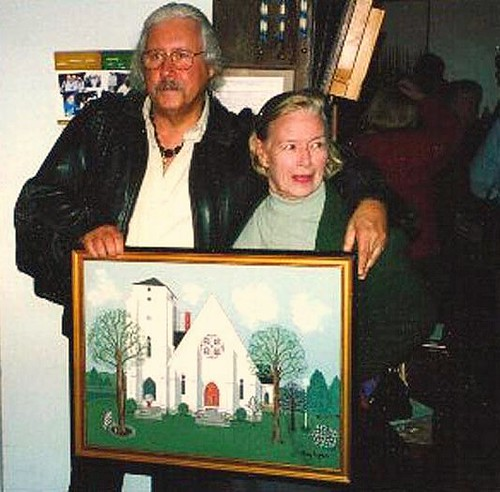 Arlo & Gaye, October 2002