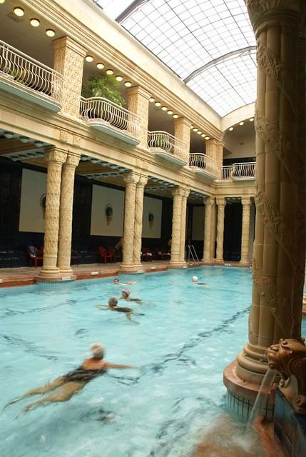 Banos Gellert.Places To See Gellert Baths