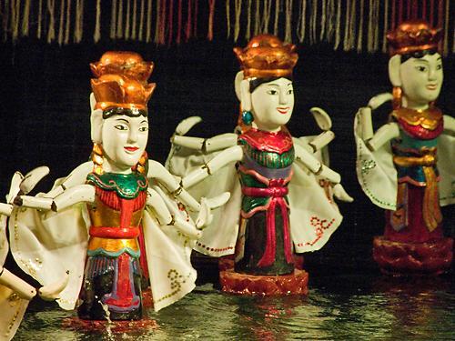 Water Puppets, Thang Long Water Puppet Theatre, Hanoi | by chrisjohnbeckett