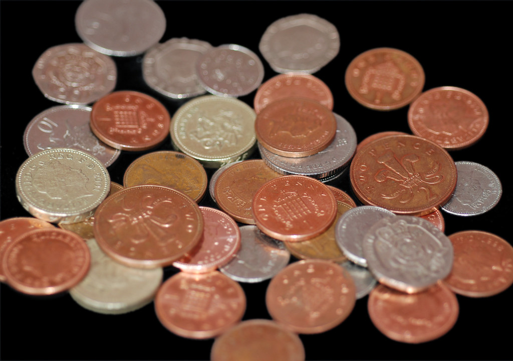 Pile of UK Coins   A selection of British coins, from a penn…   Flickr