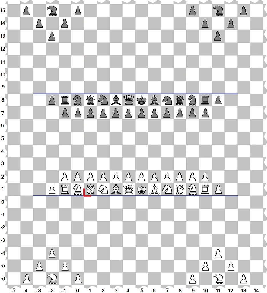 board (c - infinite plane-42 W) | Chess on an Infinite Plane