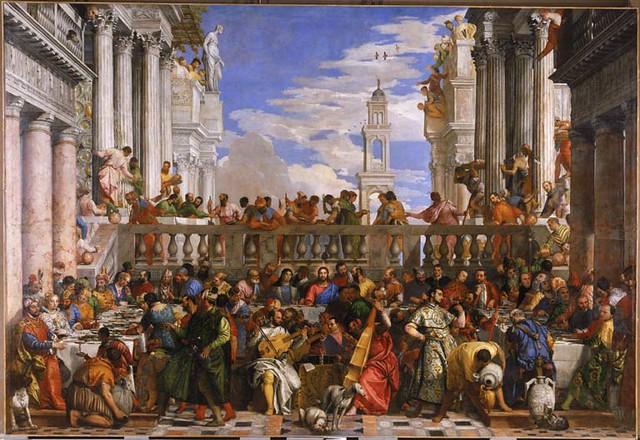Wedding Feast At Cana.Paolo Caliari Veronese The Wedding Feast At Cana Flickr