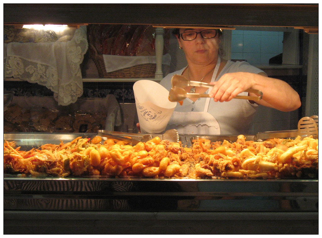 2007/09/26 - Seville, Spain - Deep fried fish shop