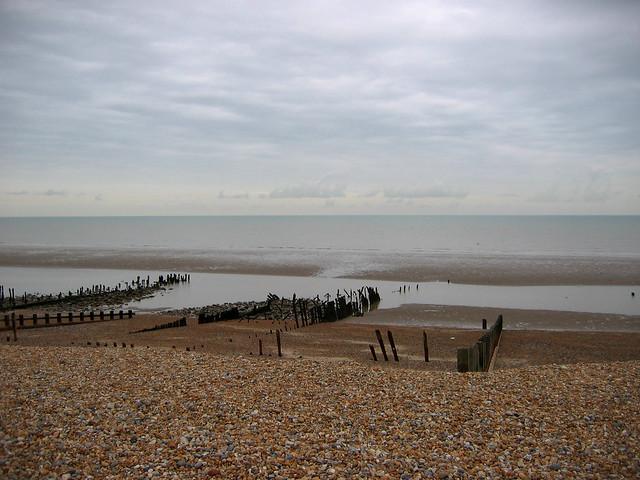 The beach near Winchelsea