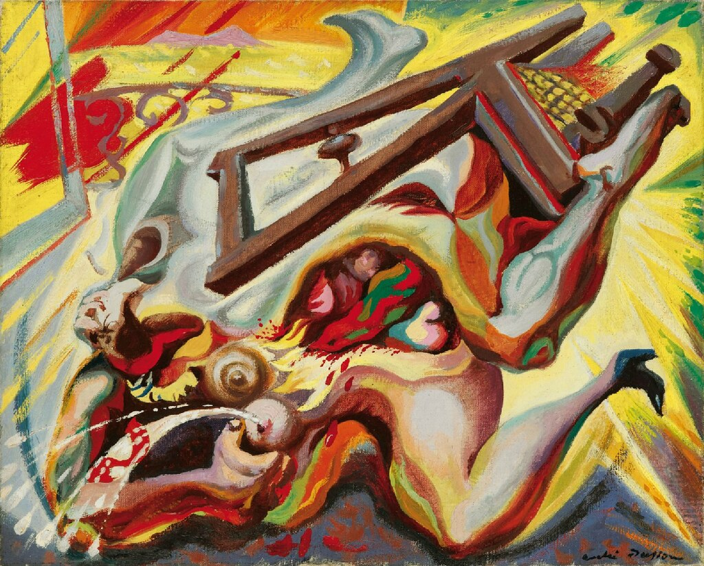 [ M ] André Masson - La chute (Le viol ou l'amour de la vitesse) (1939)