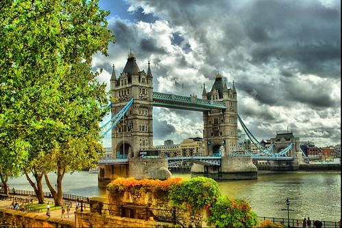 London Tower Bridge Tone Mapping | by az1172
