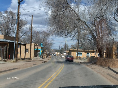 Cute Little Town on the way to Santa Fe | by evoetsch13