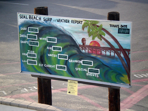 Seal Beach Surf and Weather Report | by Miss Shari
