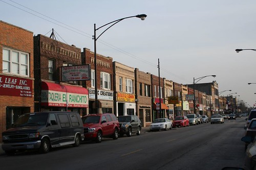 Clark Avenue commercial strip | by repowers