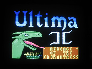 DHR Ultima II title screen | by blakespot