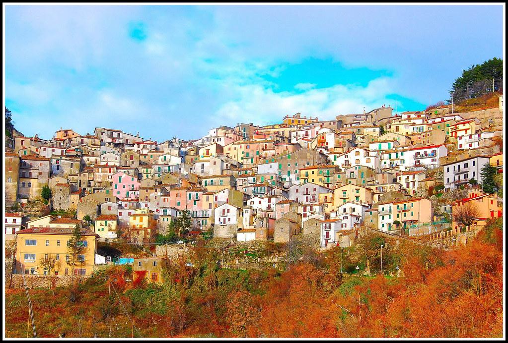 One hundred windows   Cervara - Lazio - Italy On Explore : D