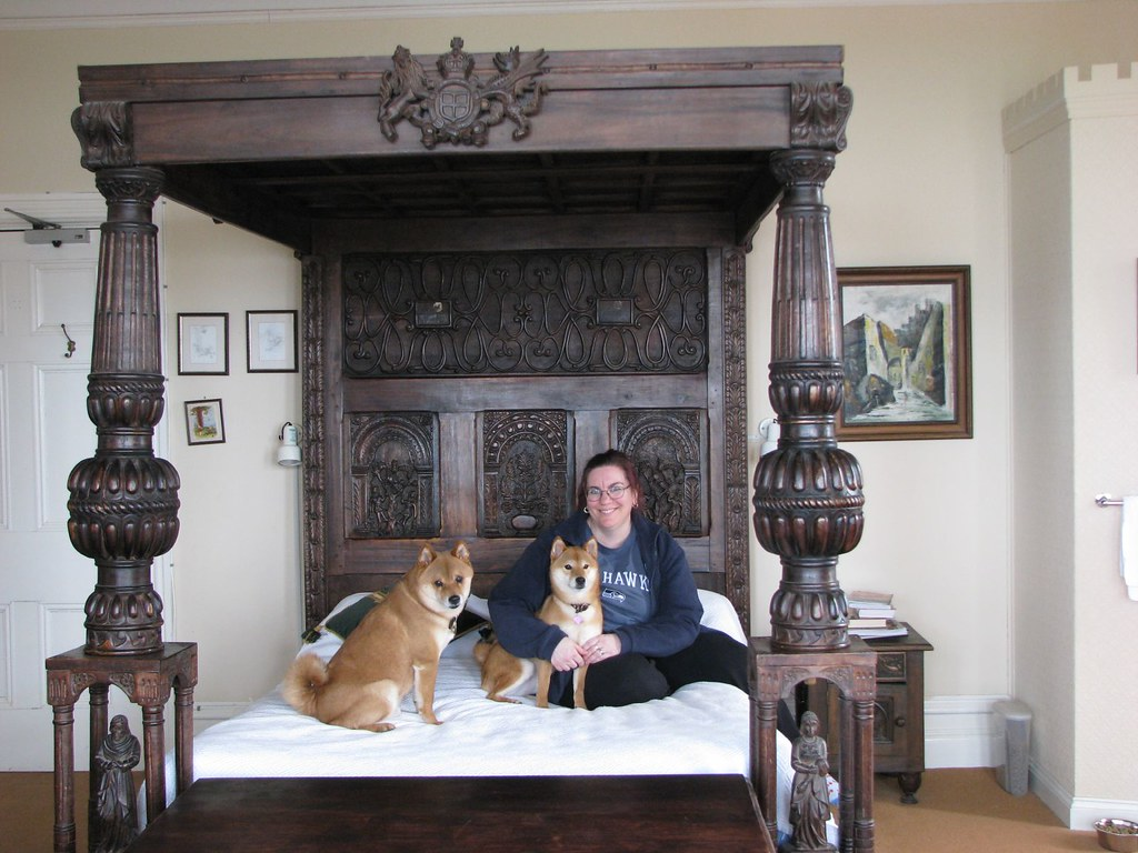 Picture of: Camelot Castle Hotel Room 117 Four Poster Bed The Literat Flickr