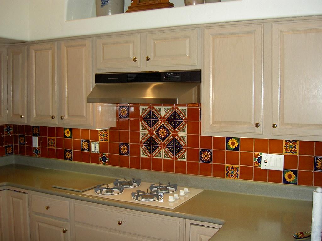 Mexican Tile Kitchen Backsplash Expressive Tile Flickr