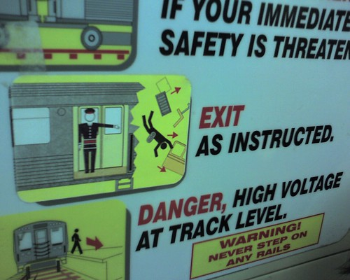 Exit as instructed?   by photovox