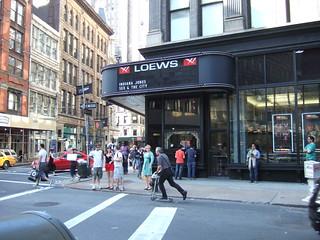 AMC Loews 19th St. East 6, NYC, 5/30/08 - 1 of 8   by goodrob13