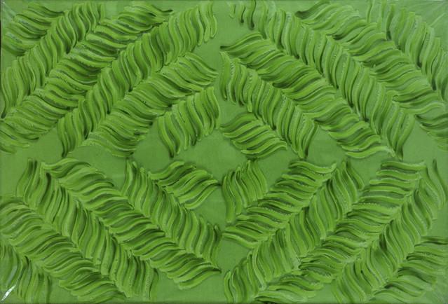 Accardi, Carla (1924- ) - 1966 Green Green (Private Collection)