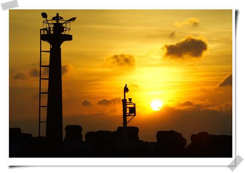sunset sun nature sunshine canon landscape gold hsinchu taiwan 台灣 日落 新竹 風景 海山漁港 aplusphoto