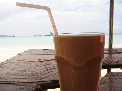 Boracay - Jonah's shake