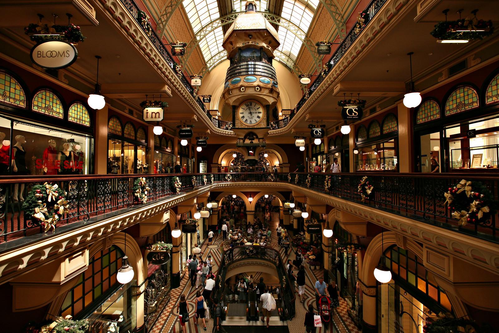 Queen Victoria Building Interior