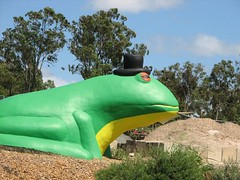 Giant Frog Statue