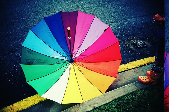lomo - yes... umbrella again!