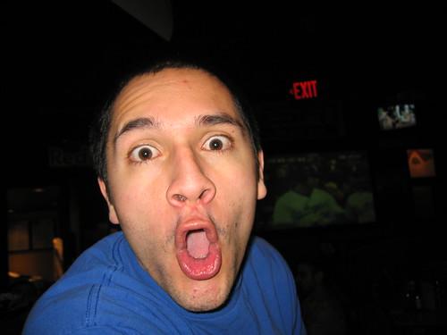 Matt loves hot wings