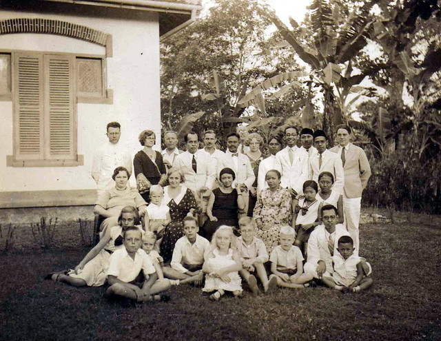 My family in the Dutch Indies, before the war.